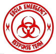Ebola Team B funny car van, bumper, windows, lorry JDM vinyl decal sticker