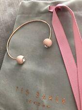 Ted Baker Eiin Enamel Ball Ultra Fine Cuff Bracelet Nude Pink / Rose Gold Tone