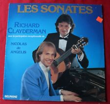 Richard Clayderman & Nicolas De Angelis, les sonates, LP - 33 Tours