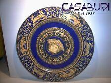 VERSACE MEDUSA BLUE PIATTO SEGNAPOSTO 30 cm-Service Plate