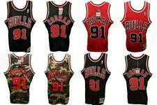 5dce89e79 1997-98 Dennis Rodman Bulls Mens S-M-L-XL-2XL-3XL-4XL