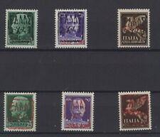GERMAN OCCUPATION, ZANTE, STAMPS, 1943,  Mi. 1- 3 I+ II**.