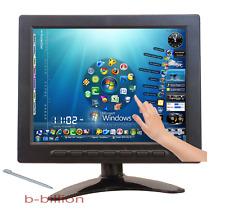 "8"" Car Pc Color Led Display Vga Bnc Rca Av Pos Touch Screen Tft Lcd Monitor Ua"