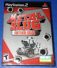 Metal Slug Anthology PlayStation 2 *New! *Factory Sealed! *Free Shipping!