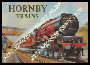 Hornby Dublo 1937 LMS Princess Elizabeth 6201 A3 Size Poster Advert Shop Sign