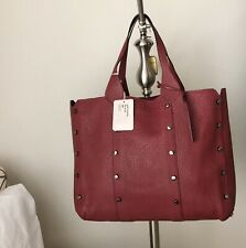 Jimmy Choo Lockett Shopper Wine Color $1790
