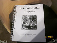 DURHAM NC 2008 New Hope Presbyterian Church Cookbook Christian Cooking