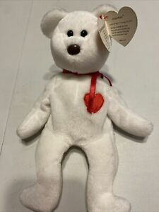 """Ty Beanie Baby """"Valentio"""" Retired 1993 Mint Condition w/ Hang Tag."""