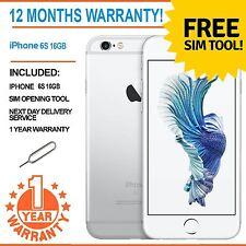 Apple Iphone 6s (Último Modelo) De 16 Gb Desbloqueado De Fábrica-Blanco / Plata