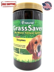 NaturVet GrassSaver Plus Enzymes 300 Chews FREE SHIPPING