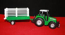 Modello di auto/Tractor FARM 212/mit vorra/MAJORETTE/Farm Life Team/OVP