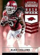 2016 Contenders Draft Picks Rush Week Insert Base Set PICK A PLAYER