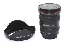 Canon EF 17-40mm F/4.0 L USM Lens - Black **5541**
