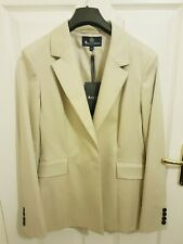 NWT Ladies/Womens Aquascutum Skirt Suit Cream/Beige Size 12