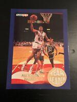 1992-93 Fleer Team Leaders Pervis Ellison #27 Washington Bullets