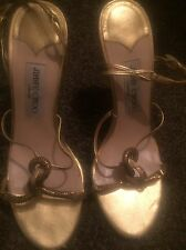 Jimmy Choo Sandals 38.5 100% Authentic