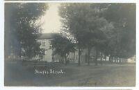 RPPC Maple Street SABINSVILLE PA Tioga County Pennsylvania Real Photo Postcard 2
