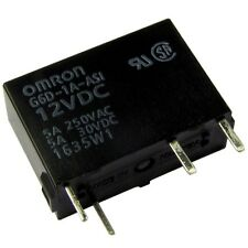 Omron g6d-1a-12a Relais 12v dc 1xein 5a 720r PCB Power Relay 854746