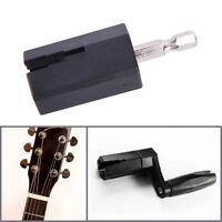 Guitarra Eléctrica Acústica Cuerda Enrolladora Cabeza Pin Extractor Accesorios