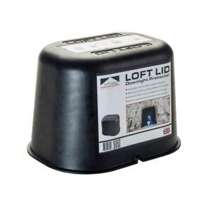LoftLeg Loft Lid Fire Rated Downlight Loft Attic Protection Cover Hood Cap