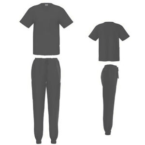 Women's Jogger Scrub Set Medical Uniform Top and Pant