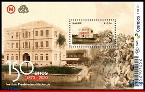 21-19 BRAZIL 2021 MACKENZIE PRESBYTERIAN INSTITUTE, ARCHITECTURE, EDUCATION, MNH