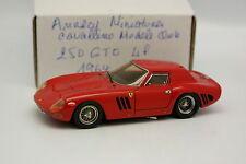 Annecy Miniatures Cavallino Models Kit Monté 1/43 - Ferrari 250 GTO 1964 Rouge