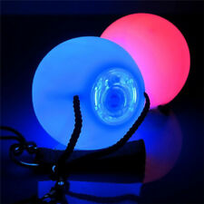 LED Multi-Coloured Glow POI Thrown Balls Light up For Belly Dance Hand Props 1 x