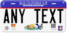 Baja California Sur Mexico Any Text Number Novelty Auto Car License Plate C04