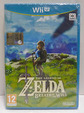 THE LEGEND OF ZELDA BREATH OF THE WILD NINTENDO WII U WIIU PAL ITA - NUOVO NEW