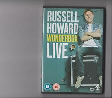 RUSSELL HOWARD WONDERBOX LIVE DVD STAND UP COMEDY