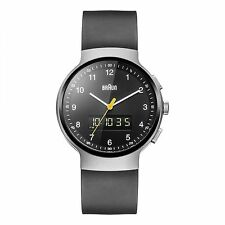 Braun BN0159SLBKBKG Men's Classic Ana-Digi Wristwatch
