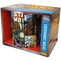 Star Wars - Comic Character Ceramic Mug - New & Official Lucasfilm Ltd