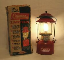 Coleman Model 200A Lantern with Box Dated 1972 Nice Condition Works Perfect