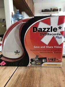 Dazzle DVD Recorder Plus Video Movies Pinnacle Studio 12 Video Capture NIB