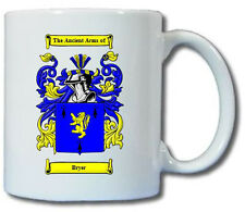 BRYER (FRENCH) COAT OF ARMS COFFEE MUG