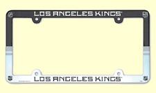 NHL® Los Angeles Kings Multicolor Plastic License Plate Holder - TEAM BOOSTER