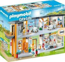 Playmobil City Life #70190 Large Hospital- New, Factory Sealed!