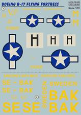 "Print Scale Decals 1/72 Boeing B-17F Flying Fortress ""Veni. Vidi. Vici"" # 72339"