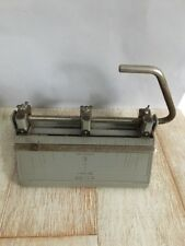 Vintage Office Supplies! Bates Three Hole Puncher!