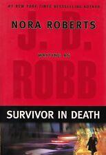Survivor in Death by J. D. Robb (2005, Hardcover) Brand New