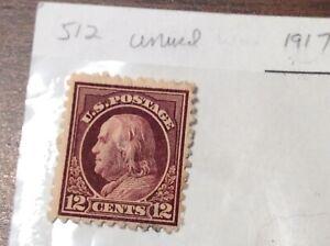 Scott # 512, Washington  , unused, retail $18.50, 1917