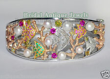 1.52ct SINGLE/CANARY YELLOW DIAMOND WEDDING ANNIVERSARY BRACELET x 1Pcs