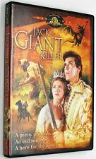 JACK THE GIANT KILLER DVD 1962 Farm Boy Battles Sorcerer To Save Princess WS CC