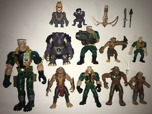 Hasbro Small Soldiers Action Figure Toy Lot! Archer, Talking Chip & Gorgonites!!