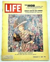 Barbra Streisand LIFE Magazine February 14 1969 Hello Dolly The Mob Castro Cuba