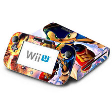 Skin Decal Cover for Nintendo Wii U Console & GamePad - Sonic The Hedgehog