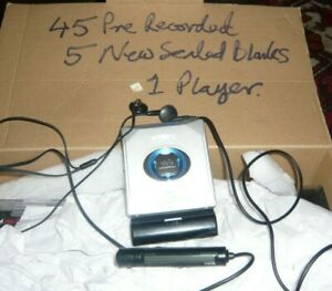 Sony MZ E501 Minidisc Player + 45 pre recorded & 5 Sealed discs