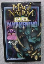 SCARCE MAGI NATION DUEL AWAKENING CORE STARTER DECK FACTORY SEALED