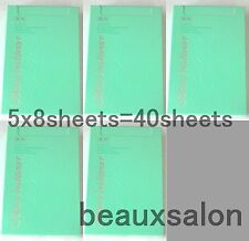 LOT5! ALBION SKIN CONDITIONER ESSENTIAL PAPER MASK 8 sheets x 5= total40 sheets!